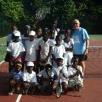 Avec la Fondation Tennis et Louise
