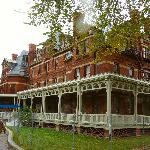 The Hotel Florence, named for Pullman's daughter, now under restoration