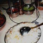 Riz Punjab avec amandes éffilées et raisins hummm
