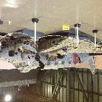 一式双発高等練習機 立川 キ54 十和田湖から69年ぶりに引き揚げられ、当時を偲ぶ貴重な機体をご覧になって下さい。