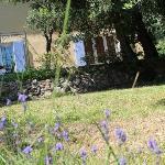 La maison d'hôtes depuis le jardin