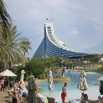 hotel from Wild Wadi waterpark