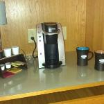 keurig brewer :)