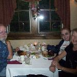 Bob's birthday dinner in October