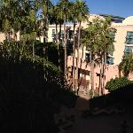 view from our 4th floor courtyard facing room