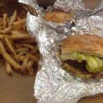 Cheeseburger n fries