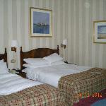 Lovely big beds