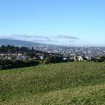 View of Dublin from Killiney Hill behind hotel (5 mins walk)