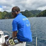Catamaran coastline tour by Wind & Sea