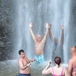 Waterfall spray