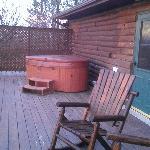 Private Deck & Hot Tub
