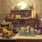 complimentary pantry..