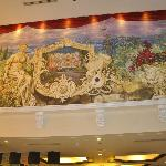 painting at the lobby