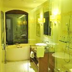 Very nice, spacious bathroom
