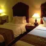 ツインルームのベッド