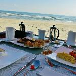 Breakfast on thebeach