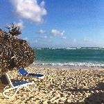 Una playa limpia y gran personal