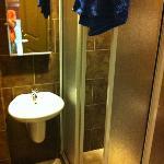 bathroom very narrow