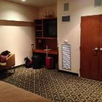 Closet/entertainment center
