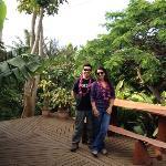 Foto en terraza de Kaimanna Inn