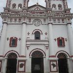 Guadape church. Iglesia en