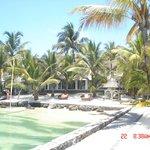 het hotel aan de strandzijde