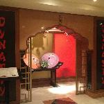 Dynasty restaurant at the lower floor