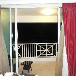 Balcony off bedroom