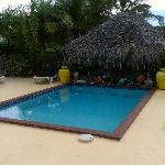 Pool and cabana with Internet access