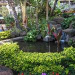 Part of the gardens at Aston Ka`anapali Shores