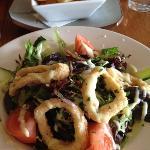 5 ring calamari salad