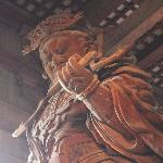 Statua dentro Todaiji Temple