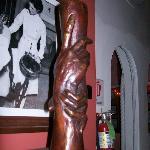 Pillar sculpture