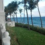 Porch & Beach edge dining