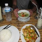 "Meal just up the road at ""Thung Ngern Restaurant"""
