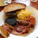 Scottish breakfast @Spoon's