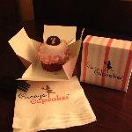 Sassy Strawberry Cupcake at Casey's Cupcakes in Riverside, CA