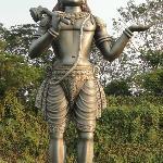 Annamayya statue, Dwaraka Tirumala