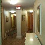 коридор в отеле