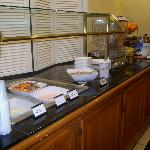 Yogurt and cereal bar with free breakfast at Sonesta