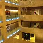 Lobby de l'hôtel en 3D
