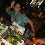 Sue gets in the mood with Balinese Food