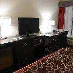 King Room Dresser and Desk (rm 104)