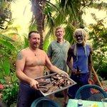 Michele, David y Zulu