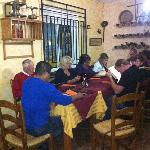 The group at Antonios Bar Los Pajaritos