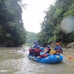 Rafting Pacuare River in Costa Rica
