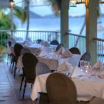French Inspired fine dining on the waterfront in Cruz Bay