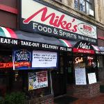 mike's Davis square store front