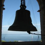 Bells in the bell tower of Guadalupe Cathedral.