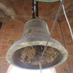 Look at one of the bells- up close and personal!